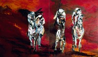 The Four Horsemen (Diptych) (2001)