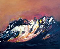Wave At Sunset (2002)